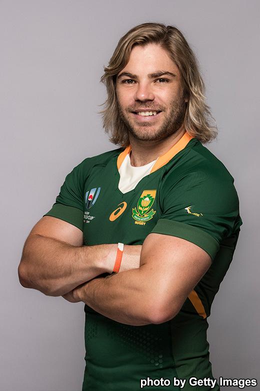 ファフ・デ クラーク , 南アフリカ , 出場国情報 , ラグビーW杯